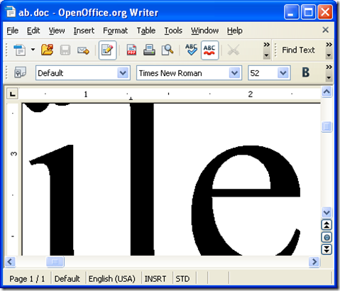 open and edit PDF in a way of DOC in OpenOffice
