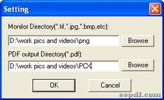 """Setting panel after clicking """"add"""""""