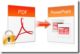 encrypted PDF to PowerPoint