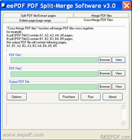 split pdf files into single pages