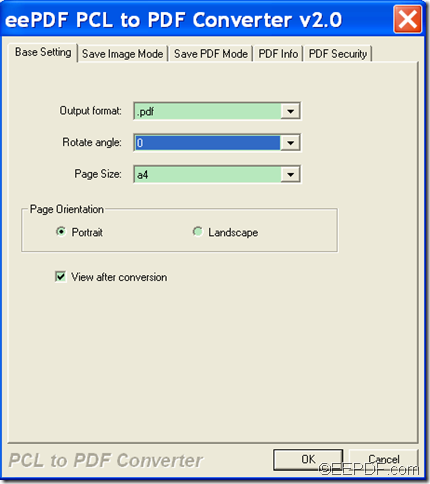 convert PCL to PDF with  EEPDF PCL to PDF Converter