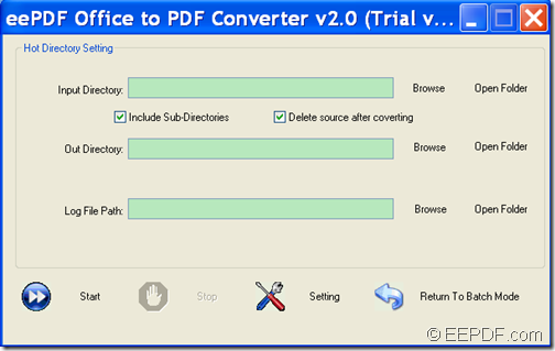 convert image, Office to PDF with EEPDF Office to PDF Converter