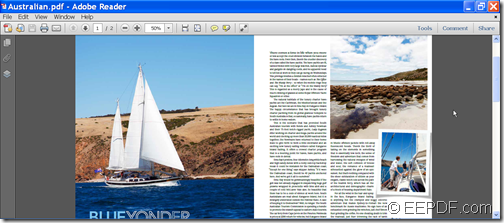Input PDF file